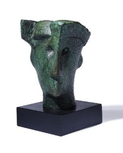 λ Henry Moore (British 1898-1986), Head of Queen (study)