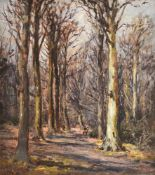 λ Joseph Frederick Percy Rendall (British 1872-1955), Wooded Landscape
