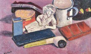 Henry Silk (British 1883-1947), My lady nicotine