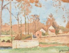 Jean Marchand (French 1883-1941), Landscape with trees
