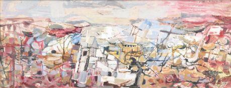λ Clifford Fishwick (British 1923-1997), Village outskirts