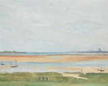 Jean Marchand (French 1883-1940), Seascape, low tide