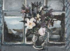 λ Rowland Suddaby (British 1912-1978), Still Life on a Window Sill