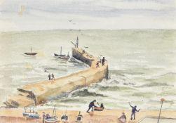 λ Elwin Hawthorne (British 1905-1954), Harbour Arms