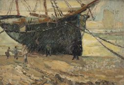 Richard Hayley Lever (American 1876-1958), Fishing Boat
