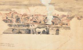 λ Keith Frederick Grant (British b. 1930), Wall under Heywood