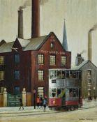 λ Arthur Delaney (British 1927-1987), The works tram
