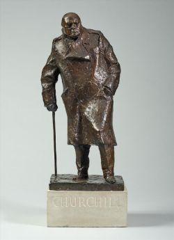 λ Ivor Roberts-Jones (British 1916-1996), Sir Winston Churchill