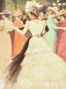 Antoine Guillaume (Tony) Minartz (French 1870-1944), The garden party
