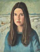 λ Tom Malone (British 1913-1986), Portrait of a girl
