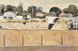 λ Keith Frederick Grant (British b. 1930), Village landscape