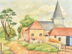 λ Lilian Leahy (British 1909-1996), Litlington