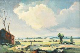 λ Walter Steggles (British 1908-1997), Essex Landscape