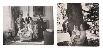 λ Cecil Beaton (British 1904-1980), Lady Caroline Duff holding her son Charles David Duff (b.1950)