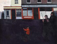 λ Hector McDonnell (Irish b. 1947), Musician and children