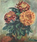 λ Piet van Wyngaerdt (Dutch 1873-1964), Chrysanthemums