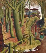 λ Simon Palmer (British b. 1956), The Pride of Miss Dorothy Fagence