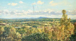 λ Claude Muncaster (British 1903-1974), South Downs from Tillington