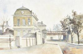 λ Elwin Hawthorne (British 1905-1954), Grosvenor Road