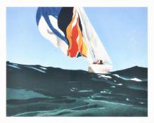 λ Donald Hamilton Fraser (British 1929-2009), Spinnaker Losing Breeze