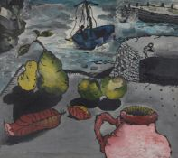 λ Michael Wishart (British 1928-1996), Still life and seascape