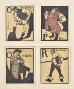 William Nicholson (British 1872-1949), An Alphabet (Campbell 25)