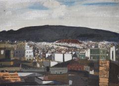 λ Spyros Vassiliou (Greek 1902-1984), View of Athens
