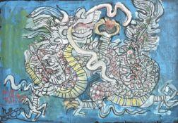 Nguyen Tu Nghiem (Vietnamese b. 1922), The year of the dragon