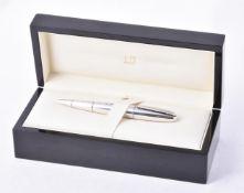 Dunhill, a silver ballpoint pen