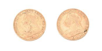 Victoria, Sovereigns (2)