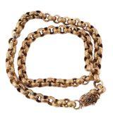 A Regency gold chain