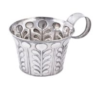 An Edwardian silver reproduction of an ancient classical cup by George Nathan & Ridley Hayes