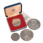 George V, Silver Jubilee 1935, official large size commemorative medal