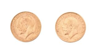 George V, Sovereigns (2)