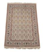 A small modern Isfahan wool rug