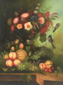 λ S. Simone (20th/21st century) 'Still life of flowers'