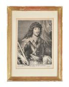 Lucas Vosterman after Van Dyck- 'Gaston de France'