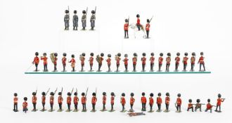 Britains Grenadier, Scots and Coldstream Guards