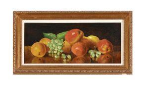λ George Melvin Rennie (Scottish 1874-1953), 'Apples and grapes'