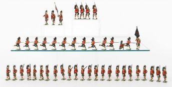 Britains Higlanders from various sets