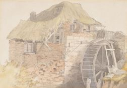 John White Abbot (British 1763-1851), 'A Devon mill'