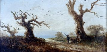 Attributed to Claude T. Stanfield Moore (British 1853-1901), 'Sherwood Giants'