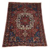 A Bakhtiar rug