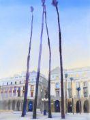 λ Glynn Boyd Harte (British 1948-2003), 'La Plaza Real'