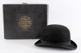 Lock & Co; a 'fine fur' bowler hat