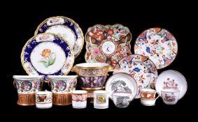 A mixed assortment of English porcelain