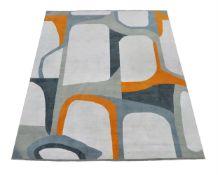 A woven carpet