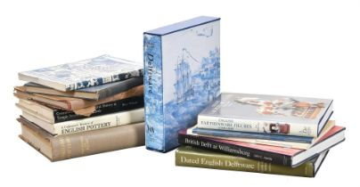 Ɵ A collection of ceramic reference books relating to English delftware and early pottery