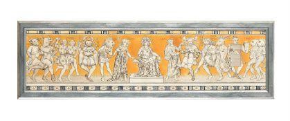 A Minton's Art Pottery Studio ceramic tile