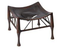 A Thebes mahogany stool